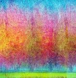 abstrakcjonistyczny ogród Fotografia Stock