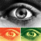 abstrakcjonistyczny oko ilustracja wektor