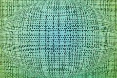 Abstrakcjonistyczny okrąg jest jednakowy ziemia obraz stock