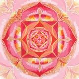 abstrakcjonistyczny okrąg malujący deseniowy obrazek ilustracji