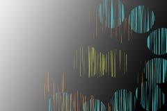 abstrakcjonistyczny okrąg Obraz Stock