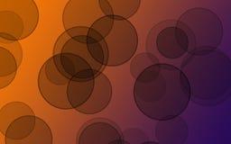 abstrakcjonistyczny okrąg Fotografia Stock