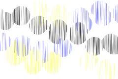 abstrakcjonistyczny okrąg Obraz Royalty Free