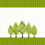 abstrakcjonistyczny okwitnięcia wiosny drzewo Zdjęcia Royalty Free