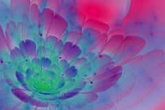 Abstrakcjonistyczny okwitnięcie kwiat Fotografia Royalty Free