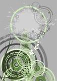 abstrakcjonistyczny ornament Obraz Royalty Free
