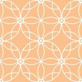 Abstrakcjonistyczny ornamentacyjny bezszwowy deseniowy tło Zdjęcia Royalty Free