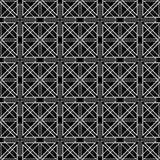 Abstrakcjonistyczny ornamentacyjny geometryczny bezszwowy wzór Obraz Royalty Free