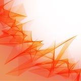 Abstrakcjonistyczny płomienia tło Zdjęcie Royalty Free