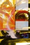 abstrakcjonistyczny papier Zdjęcia Royalty Free