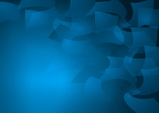 Abstrakcjonistyczny Papierowego pościg llustration tło Obraz Stock
