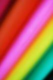Abstrakcjonistyczny papierowej sterty defocused colourful tło Obraz Stock