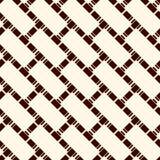 Abstrakcjonistyczny parkietowy tło Bezszwowy powierzchnia wzór z częstotliwymi diagonalnymi prostokątnymi płytkami Działająca nie ilustracja wektor