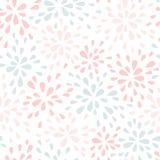 Abstrakcjonistyczny Pastelowy Bezszwowy Wzór Zdjęcia Royalty Free
