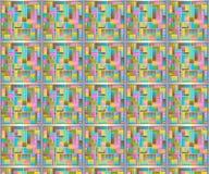 Abstrakcjonistyczny pastelu wzór Fotografia Stock