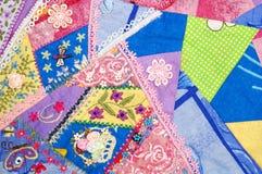 abstrakcjonistyczny patchwork Zdjęcie Royalty Free