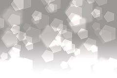 Abstrakcjonistyczny Pentagon tło Obraz Stock