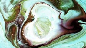 Abstrakcjonistyczny piękno sztuka atramentu farba wybucha kolorowego fantazi rozszerzanie się obraz royalty free