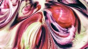 Abstrakcjonistyczny piękno sztuka atramentu farba wybucha kolorowego fantazi rozszerzanie się fotografia stock
