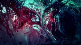 Abstrakcjonistyczny piękno sztuka atramentu farba wybucha kolorowego fantazi rozszerzanie się Zdjęcia Stock
