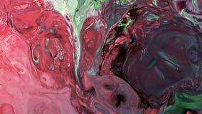 Abstrakcjonistyczny piękno sztuka atramentu farba wybucha kolorowego fantazi rozszerzanie się Obrazy Royalty Free