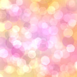 abstrakcjonistyczny piękny bokeh Obraz Royalty Free