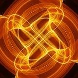 abstrakcjonistyczny piękny energetycznego przepływu wizerunek Fotografia Stock