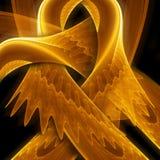 abstrakcjonistyczny piękny energetycznego przepływu wizerunek Zdjęcie Royalty Free