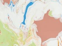 Abstrakcjonistyczny piękny jaskrawy koloru tło Obraz Stock