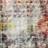 Abstrakcjonistyczny piękny tło w stylu mieszanych środków Obraz Stock