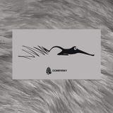 Abstrakcjonistyczny piękny Fox Obraz Stock