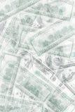 Abstrakcjonistyczny pieniądze tło Obrazy Stock