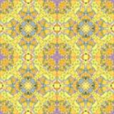 Abstrakcjonistyczny plama koloru żółtego wzór, atramentu tło ilustracji