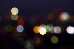 Abstrakcjonistyczny plamy bokeh tło Zdjęcie Royalty Free
