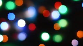 Abstrakcjonistyczny plamy bokeh t?o Kolorowy defocused bokeh t?o Miękka kolor plama na czarnym tle Piękny barwiony boke zbiory