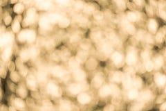 Abstrakcjonistyczny plamy choinki bokeh tło Fotografia Stock