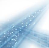 Abstrakcjonistyczny plamy nowej technologii biznesu tło
