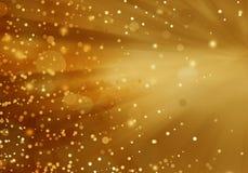 Abstrakcjonistyczny plamy tła światła złoto, miękka część i elegancja, ilustracji