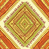 Abstrakcjonistyczny plemienny wzór Obraz Stock