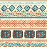 Abstrakcjonistyczny plemienny wzór Fotografia Royalty Free