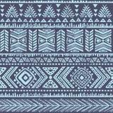 Abstrakcjonistyczny plemienny wzór Obrazy Stock