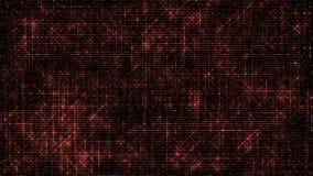 Abstrakcjonistyczny połysk Prowadząca kod czerwień ilustracji