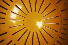 Abstrakcjonistyczny pogodny żółty tło zdjęcie stock