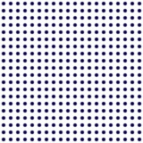 Abstrakcjonistyczny polek kropek bezszwowy deseniowy zmrok - błękit na białym tle ilustracja wektor