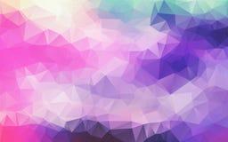 Abstrakcjonistyczny poligonalny tło, Zdjęcia Stock