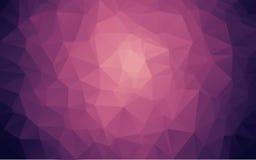 Abstrakcjonistyczny poligonalny tło, Fotografia Royalty Free
