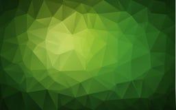 Abstrakcjonistyczny poligonalny tło, Fotografia Stock