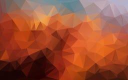 Abstrakcjonistyczny poligonalny tło, Zdjęcia Royalty Free