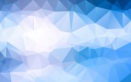 Abstrakcjonistyczny poligonalny tło, Obrazy Stock