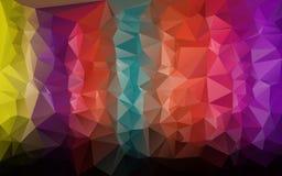 Abstrakcjonistyczny poligonalny tło, Zdjęcie Stock